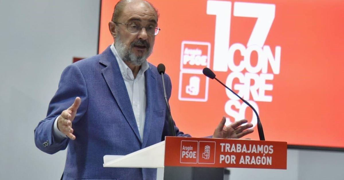 Javier Lambán, presidente de Aragón, da positivo en coronavirus tras participar en el Congreso del PSOE