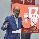 Javier Lambán, presidente de Aragón, da positivo en coronavirus tras participar en el congreso del