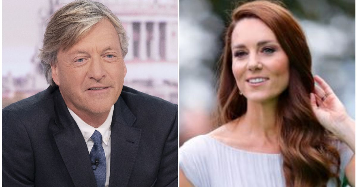 'Do Better': Richard Madeley's Comment About Kate Middleton's 'Tiny, Tiny Waist' Did Not Go Down Well With GMB Viewers