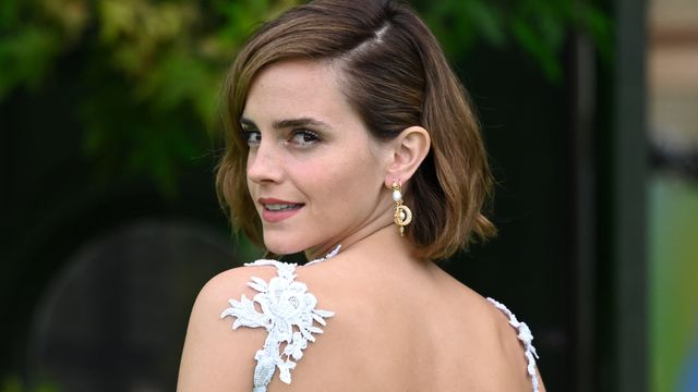 Emma Watson Returns To Red Carpet In Outfit Made From Old Wedding Dresses.jpg