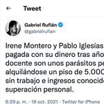 A Rufián casi no le caben los 'me gusta' en Twitter tras este tuit sobre Victoria