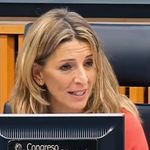 El momento de Yolanda Díaz en el Congreso que no para de acumular