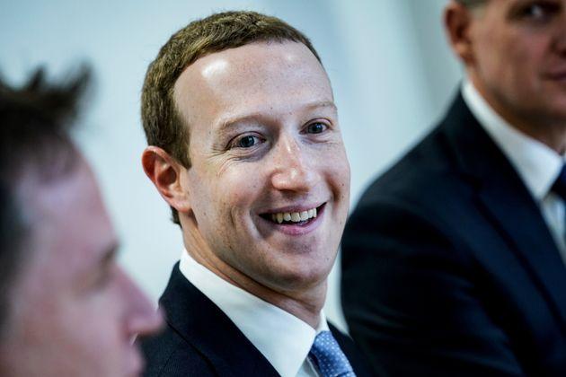 Le fondateur et PDG du service américain de médias sociaux et de réseaux sociaux Facebook, Mark Zuckerberg, à Bruxelles le 17 février 2020.