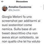 La giornalista Cuzzocrea finisce nella shitstorm dei fan della Meloni (di G.