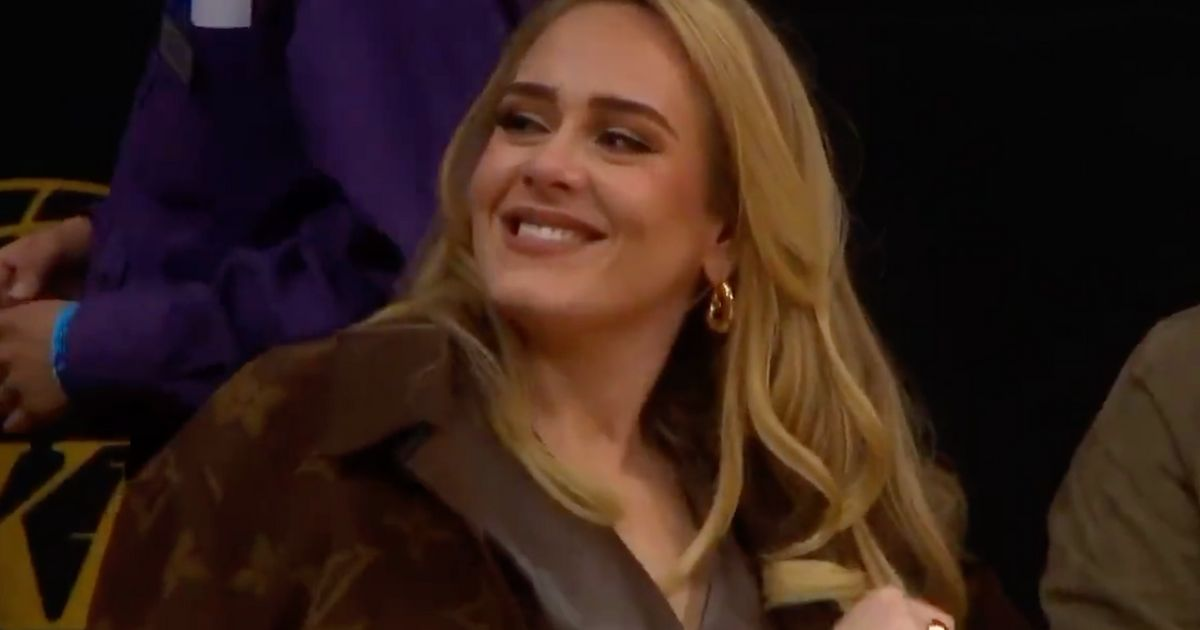 Adele Is All Smiles On Date Night With Boyfriend Rich Paul At A-List Basketball Game In LA