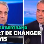 Les trois volte-face de Xavier Bertrand sur le Congrès LR en dix