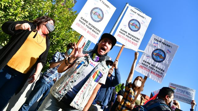 Netflix Employees Walk Out, Rally With Supporters For Trans Community.jpg