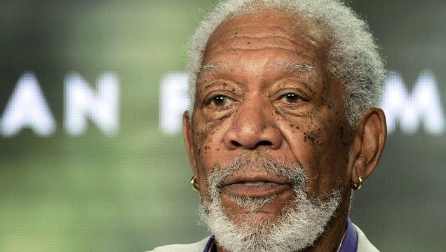 Morgan Freeman Interviews Police Recruits In Alabama Town.jpg