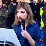 Isabel Peralta, la líder falangista española, se va a Alemania becada para