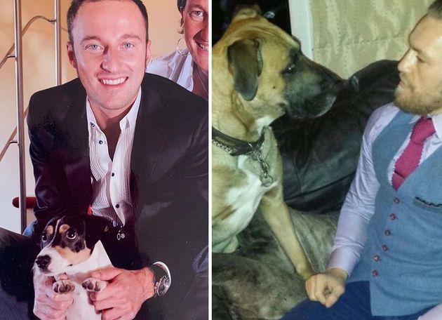 Muoiono i cani a pochi giorni di distanza: Facchinetti e McGregor accomunati dallo stesso dolore