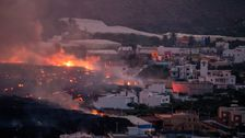 Hundreds More Evacuated As Lava From Spanish Volcano Flows Further Into Town