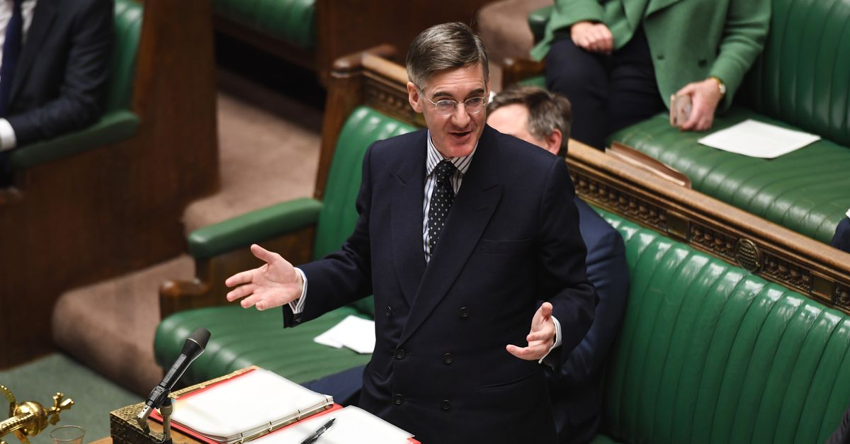 Tory MPs Don't Need To Wear Masks Because 'We Know Each Other', Says Jacob Rees-Mogg
