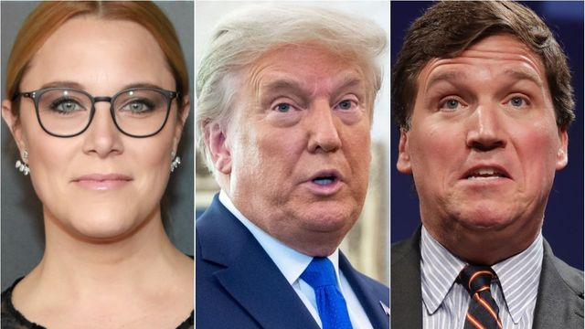 Conservative Pundit Thinks Trump's New Media Company Is Because Of Tucker Carlson.jpg