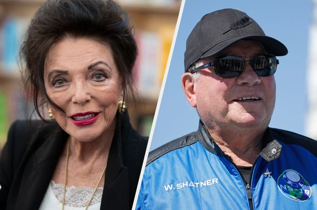 Joan Collins Blasts William Shatner's Trip Into Space: 'What A Fool ...