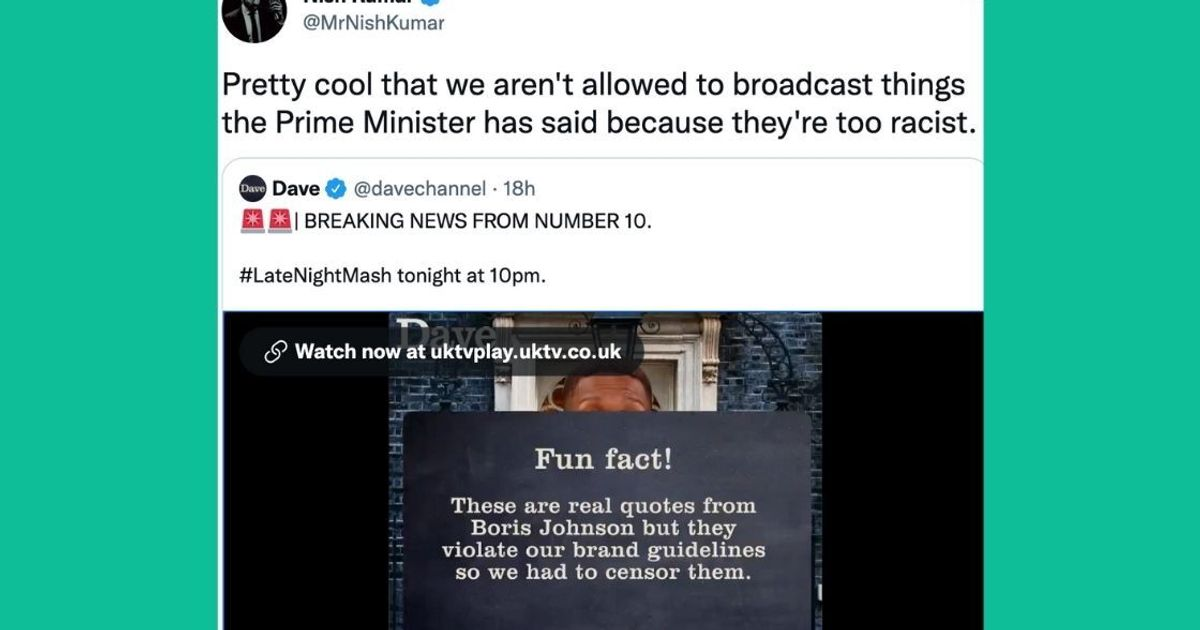 Boris Johnson's Direct Quotes Had To Be Censored In The Mash Report