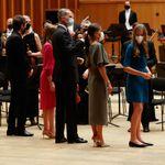 La reina Letizia se acerca al guitarrista Pablo Villegas y le hace la pregunta que nadie