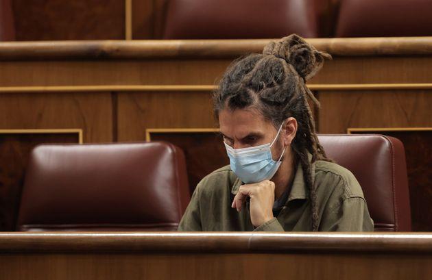 Batet le retira el escaño a Alberto Rodríguez y Unidas Podemos se querellará contra ella