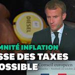 Macron répond à ceux qui lui demandent de baisser les taxes sur le