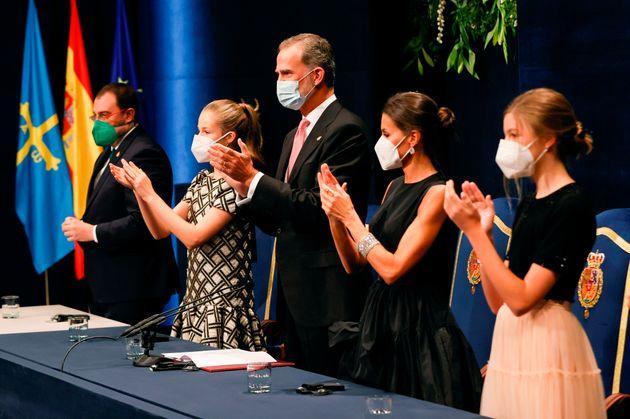 Los Princesa de Asturias regresan con fuerza, sin olvidar a La Palma y con un claro mensaje del rey