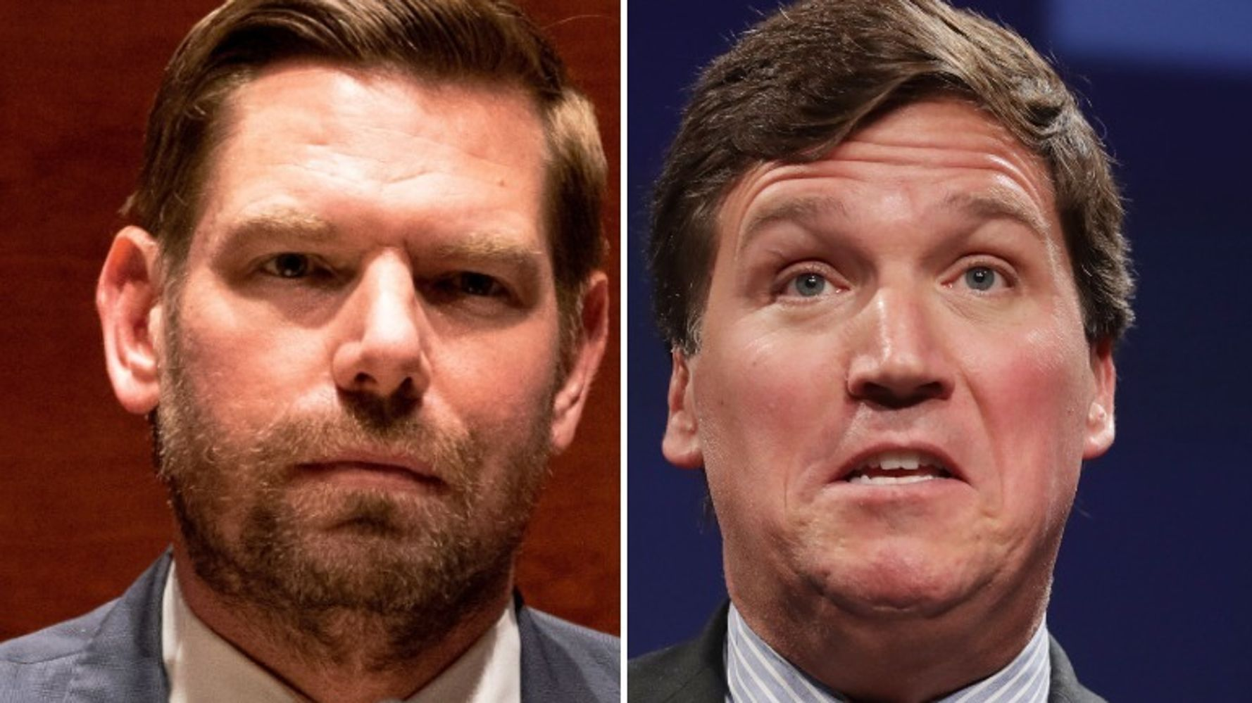 Rep. Eric Swalwell Shares Chilling Voicemail Sent To Him By Tucker Carlson Fan