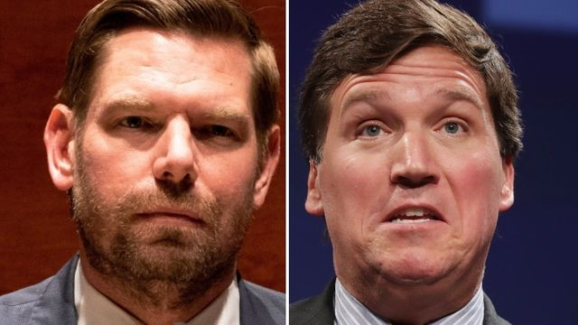 Rep. Eric Swalwell Shares Chilling Voicemail Sent To Him By Tucker Carlson Fan.jpg