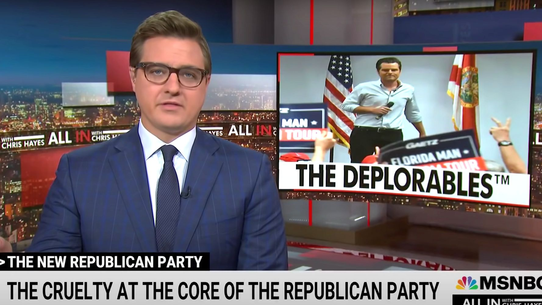 Chris Hayes Exposes The 'Cruelty At The Core' Of The GOP
