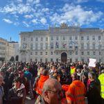Trieste, la protesta continua pacifica. Puzzer:
