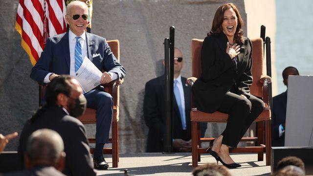 Deal On Biden's $2T Plan Edges Closer; Harris Is `Confident'.jpg