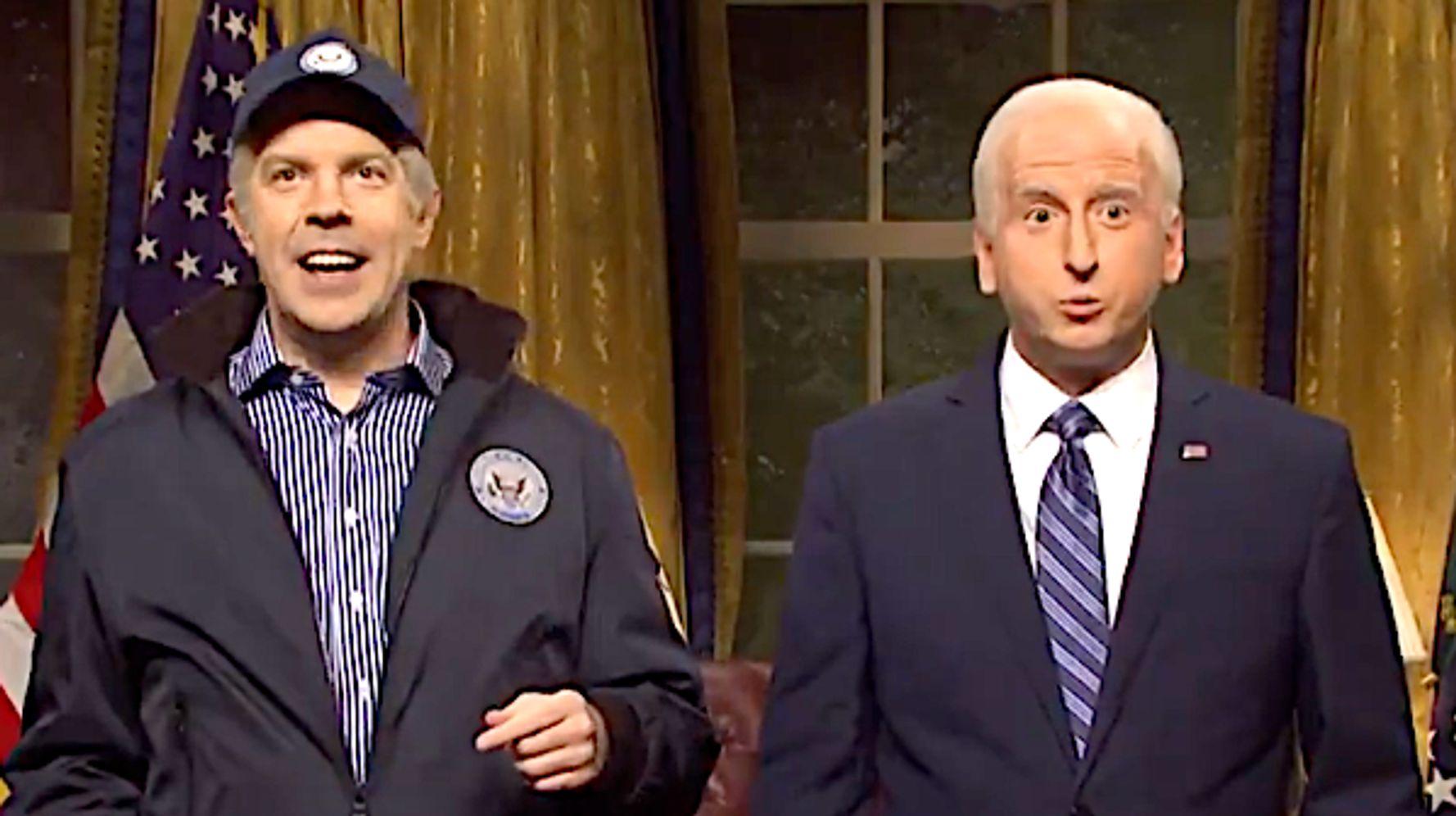 'Joe Biden' Meets His Cool Jason Sudeikis Self On 'Saturday Night Live'