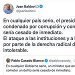 Baldoví replica a este tuit de Pablo Casado y le llueven los 'me gusta': van 6.500 y
