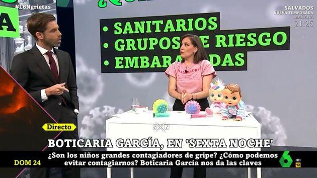 La alerta de Boticaria García sobre la gripe y la covid que es mejor tener en cuenta