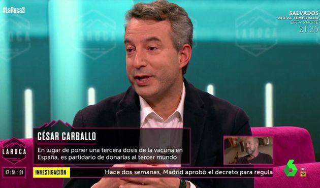 César Carballo es más sincero que nunca y responde así a los que le critican