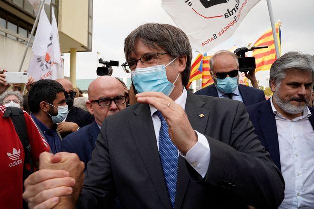 Puigdemont quiere volver a Cataluña como un hombre libre