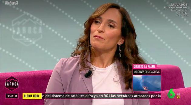 Mónica García califica de forma clara las palabras de Villarejo sobre Juan Carlos I