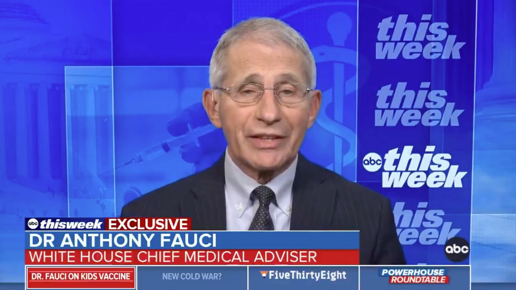 Dr. Anthony Fauci Says 5- To 11-Year-Olds Could Get Pfizer COVID-19 Shot By Early November