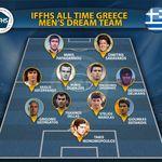 Η κορυφαία ενδεκάδα ποδοσφαίρου όλων των εποχών στην Ελλάδα, σύμφωνα με την