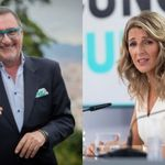 Carlos Herrera 'rebautiza' a Yolanda Díaz y repite la palabra siete