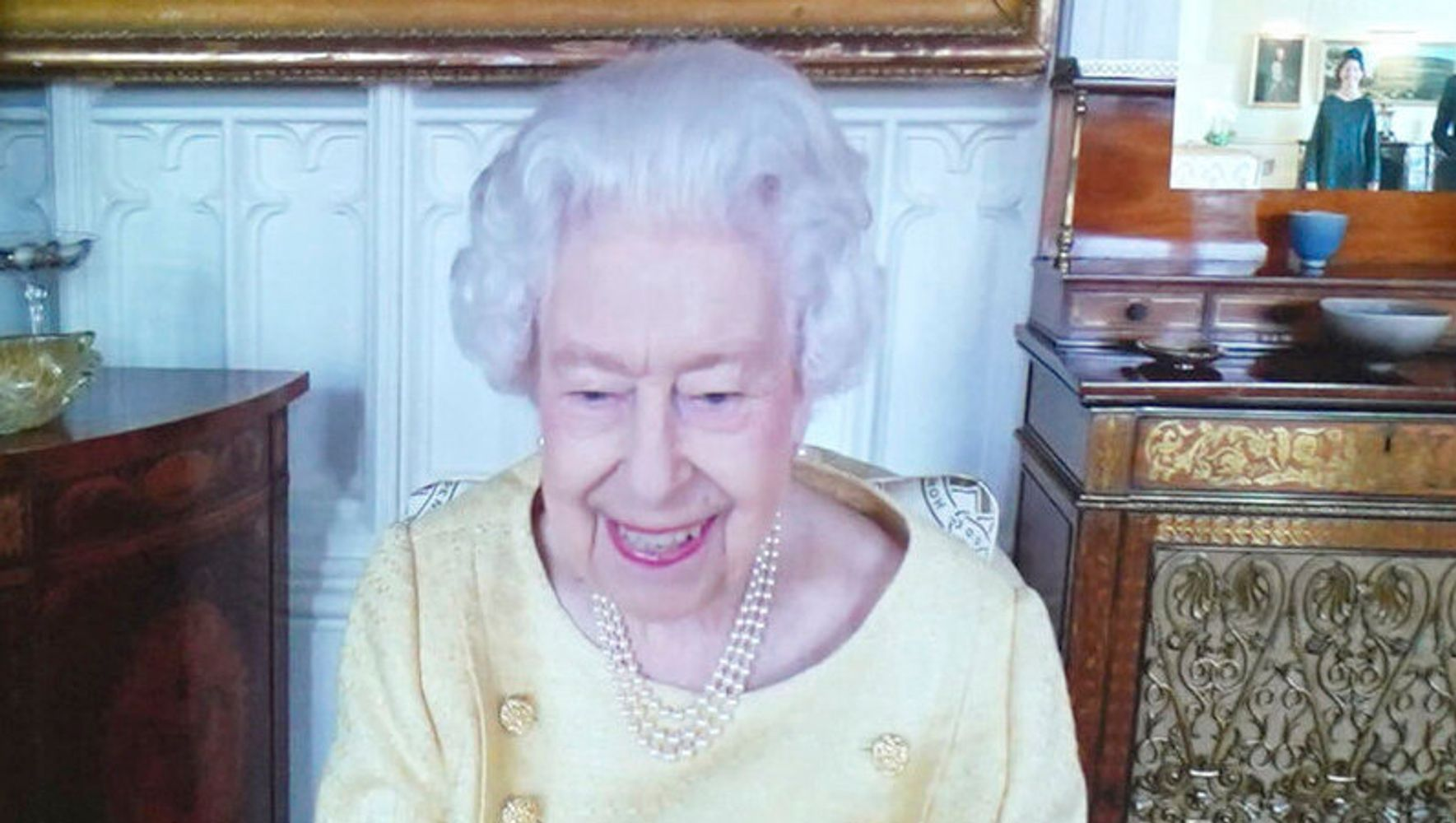 The Queen Returns To Work Following Health Scare
