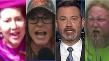 Jimmy Kimmel Exposes Biggest Anti-Vaxxer 'Pandummies' In Scathing New Supercut Video