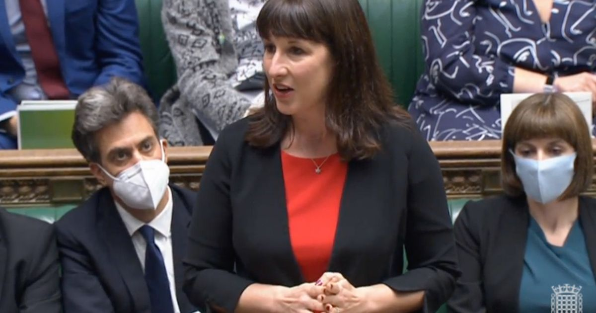 Budget 2021: Rachel Reeves Tears Into Bankers 'Sipping Champagne' As She Steps In For Starmer