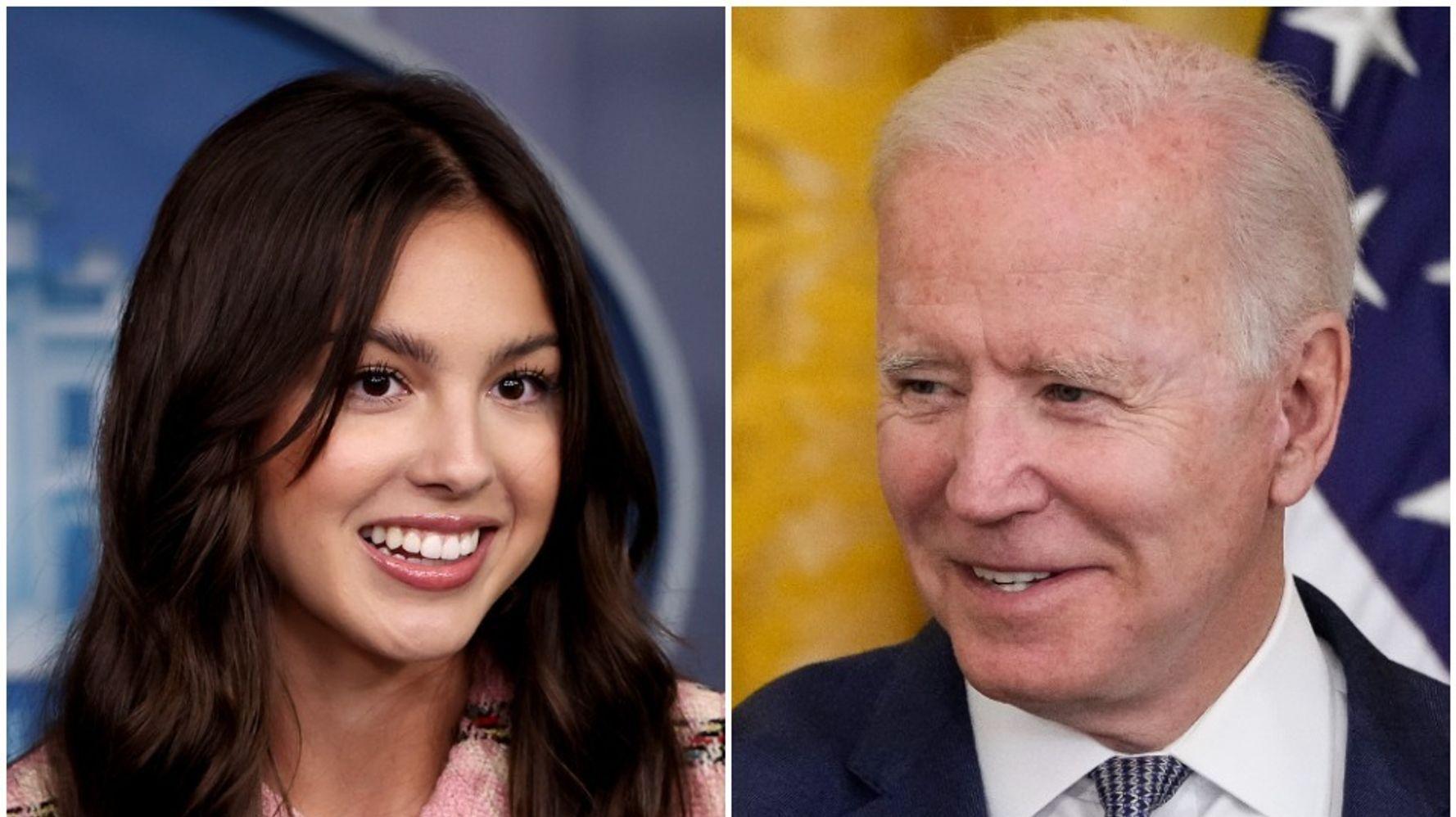 Olivia Rodrigo Shares 'Strange' Gift That Biden Gave Her During White House Visit