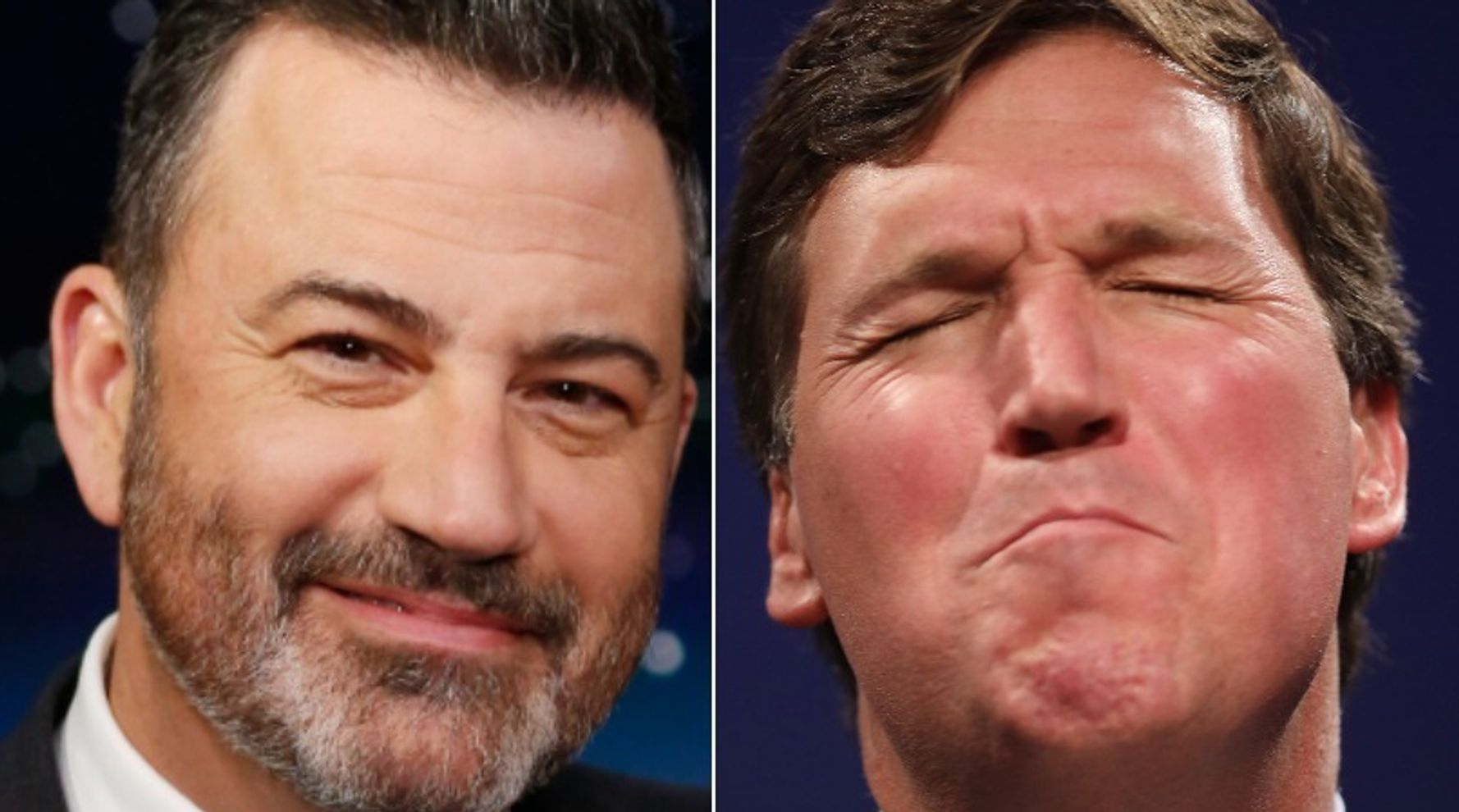 Kimmel Taunts Tucker Carlson With A Mock Honor That Could Haunt Him Forever