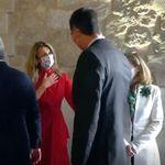El llamativo gesto de Yolanda Díaz a Pedro Sánchez delante de Nadia Calviño: ojo a su